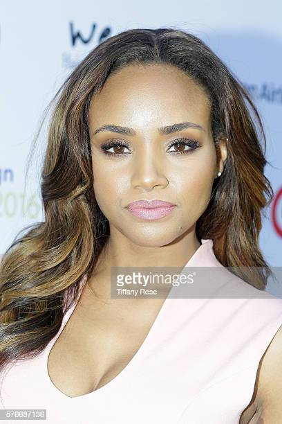 Actress Meagan Tandy attends HollyRod Foundation's DesignCare Gala on July 16 2016 in Pacific Palisades California