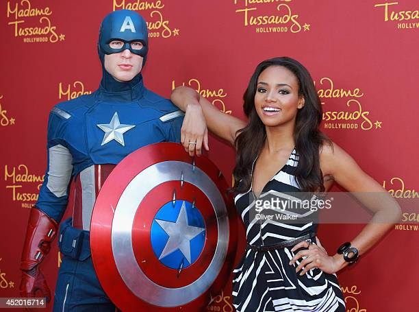 Actress Meagan Tandy attends Madame Tussauds Hollywood Grand Opening Party For New Marvel Super Heroes 4D Theater at Madame Tussauds on July 10 2014...