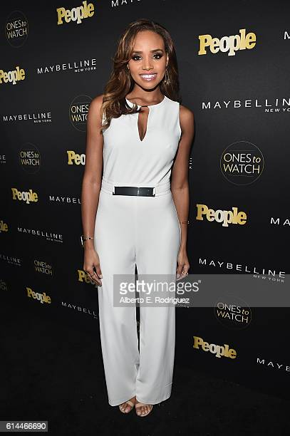 Actress Meagan Tandy attends People's Ones to Watch event presented by Maybelline New York at EP LP on October 13 2016 in Hollywood California
