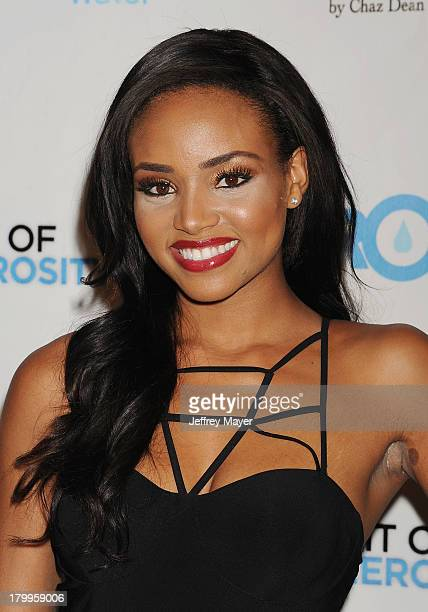 Actress Meagan Tandy attends the Generosity Water's 5th annual night of Generosity benefit held at the Beverly Hills Hotel on September 6 2013 in...