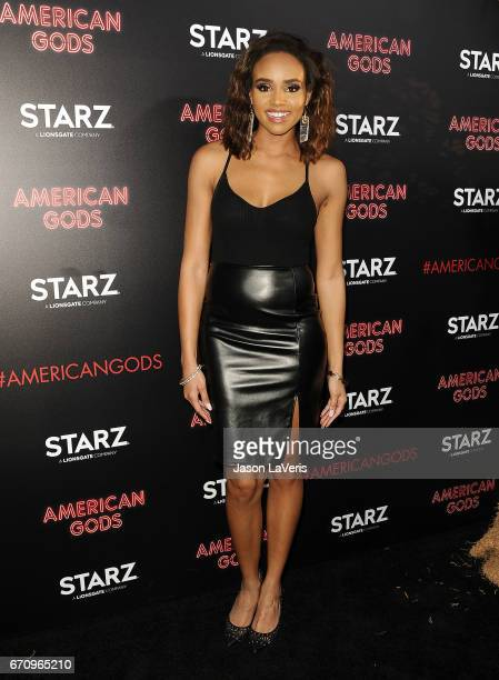 Actress Meagan Tandy attends the premiere of American Gods at ArcLight Cinemas Cinerama Dome on April 20 2017 in Hollywood California