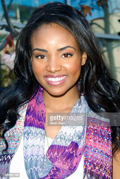 Actress Meagan Tandy attends Trueheart Events 1st annual All You Need Is Love Valentine's Day Party at Children's Hospital Los Angeles on February 14...