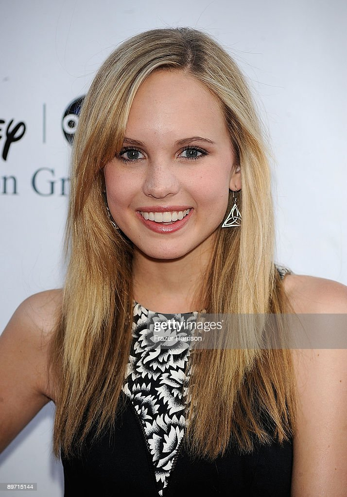 Actress Meaghan Martin arrives at Disney-ABC Television Group Summer Press Tour Party at The Langham Hotel on August 8, 2009 in Pasadena, California.