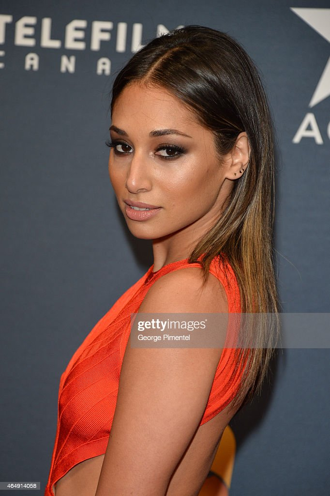 Actress Meaghan Rath arrives at the 2015 Canadian Screen Awards at the Four Seasons Centre for the Performing Arts on March 1, 2015 in Toronto, Canada.