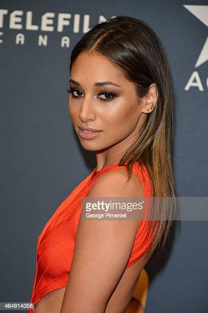 Actress Meaghan Rath arrives at the 2015 Canadian Screen Awards at the Four Seasons Centre for the Performing Arts on March 1 2015 in Toronto Canada