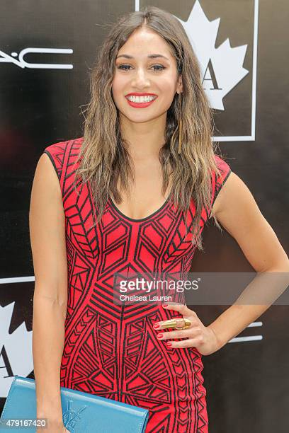 Actress Meaghan Rath arrives at the 2015 Golden Maple Awards at SLS Hotel on July 1 2015 in Beverly Hills California