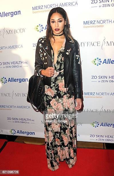 Actress Meaghan Rath arrives for MyFaceMyBody Awards held at Montage Beverly Hills on November 5 2016 in Beverly Hills California