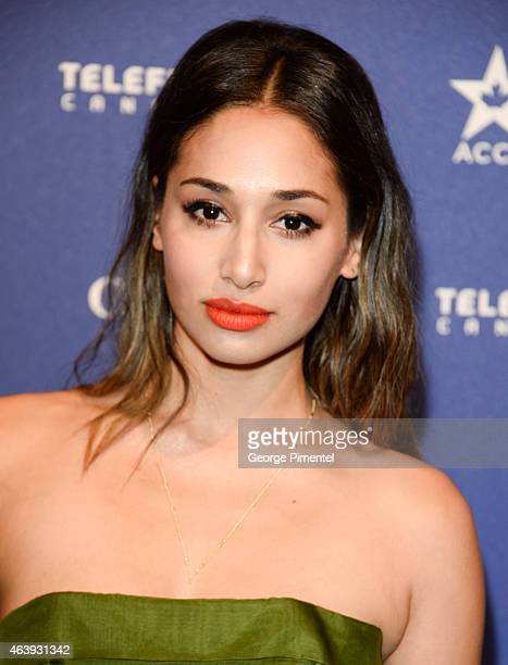 Actress Meaghan Rath attend the Telefilm Canada Oscar Week Gala held at The Four Seasons Hotel on February 19 2015 in Beverly Hills California