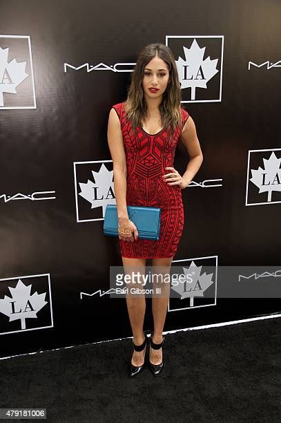 Actress Meaghan Rath attends the 2015 Golden Maple Awards at SLS Hotel on July 1 2015 in Beverly Hills California
