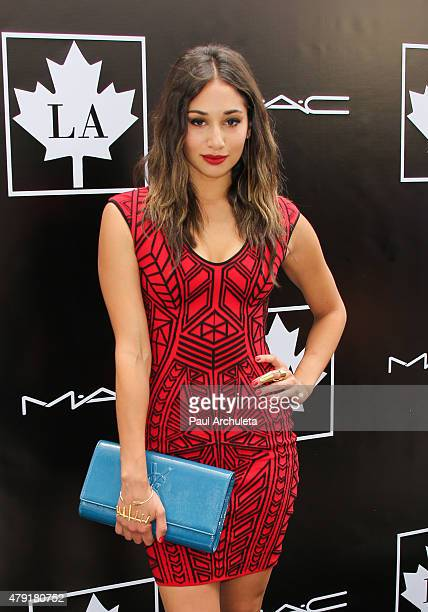 Actress Meaghan Rath attends the 2015 Golden Maple Awards at The SLS Hotel on July 1, 2015 in Beverly Hills, California.