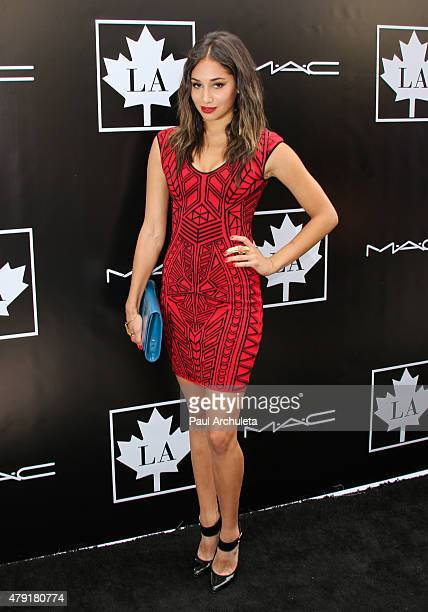 Actress Meaghan Rath attends the 2015 Golden Maple Awards at The SLS Hotel on July 1 2015 in Beverly Hills California