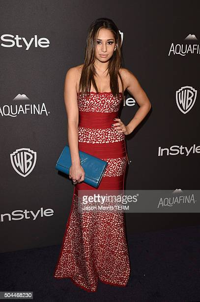 Actress Meaghan Rath attends The 2016 InStyle And Warner Bros 73rd Annual Golden Globe Awards PostParty at The Beverly Hilton Hotel on January 10...