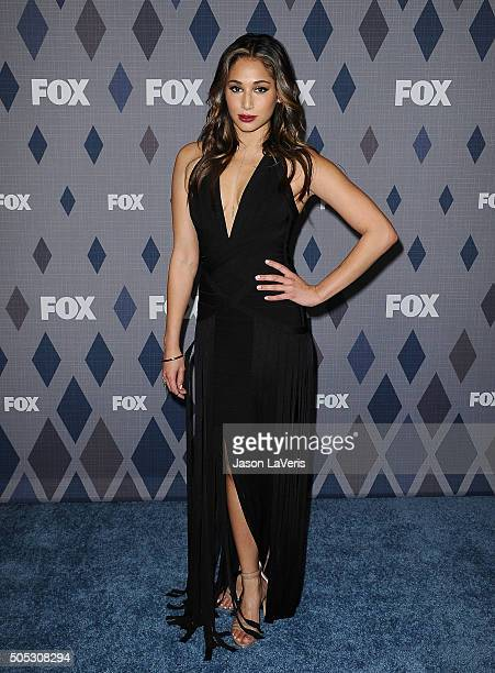 Actress Meaghan Rath attends the FOX winter TCA 2016 AllStar party at The Langham Huntington Hotel and Spa on January 15 2016 in Pasadena California