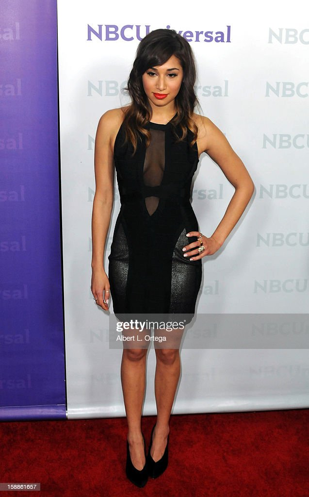 NBC Universal Winter Tour All-Star Party - Arrivals : News Photo
