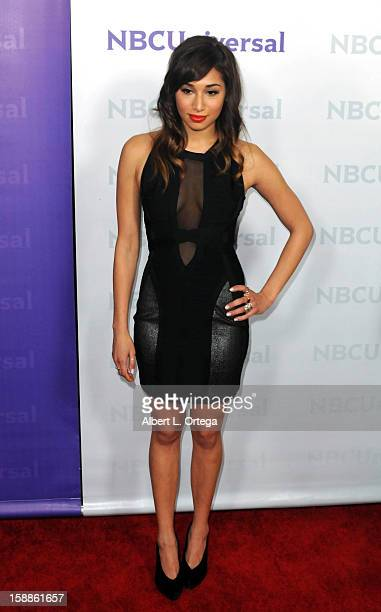 Actress Meaghan Rath participates in the NBC Universal Winter Tour AllStar Party held at The Athenaeum on January 06 2012in Pasadena California