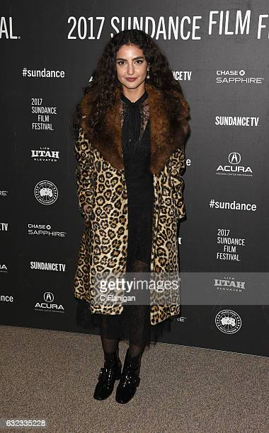 Actress Medalion Rahimi attends the 'Before I Fall' premiere during day 3 of the 2017 Sundance Film Festival at Eccles Center Theatre on January 21...