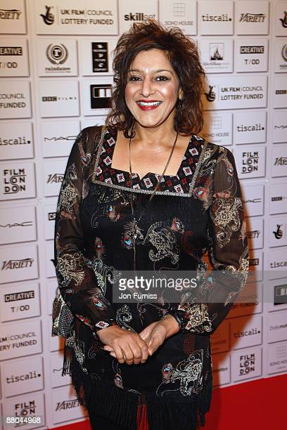 Actress Meera Syal attends the British Independent Film Awards at the Old Billingsgate Market on November 30 2008 in London England