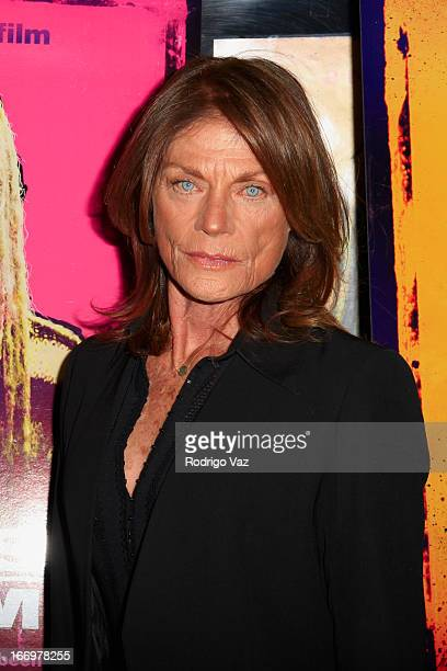 Actress Meg Foster arrives at Rob Zombie's The Lords Of Salem Los Angeles Premiere at AMC Burbank 16 on April 18 2013 in Burbank California