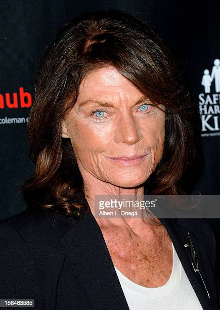 Actress Meg Foster arrives for sCare Foundation's 2nd Annual Halloween Benefit held at The Conga Room at LA Live on October 28 2012 in Los Angeles...