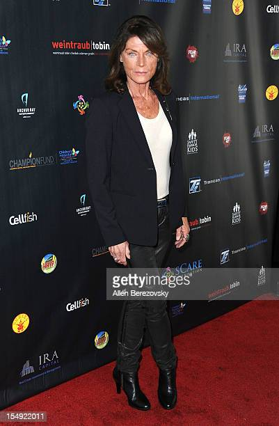 Actress Meg Foster attends sCare Foundation's 2nd annual Halloween Benefit honoring actor Malcolm McDowell and Kyle Richards at The Conga Room at LA...