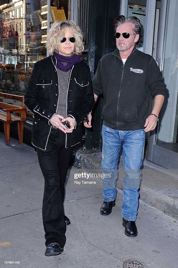 Celebrity Sightings In New York City - January 5, 2011 : News Photo