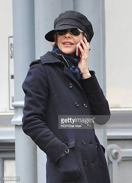 Actress Meg Ryan as seen on January 11 2013 in New York City