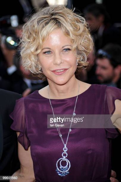Actress Meg Ryan attends Countdown To Zero Premiere at the Palais des Festivals during the 63rd Annual Cannes Film Festival on May 17 2010 in Cannes...