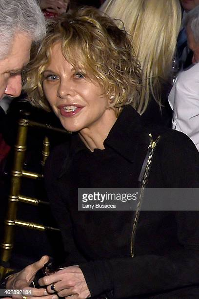 Actress Meg Ryan attends the 25th anniversary MusiCares 2015 Person Of The Year Gala honoring Bob Dylan at the Los Angeles Convention Center on...
