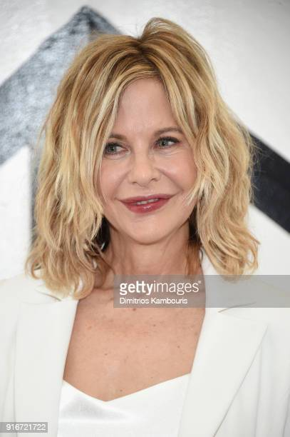 Actress Meg Ryan attends the Christian Siriano fashion show during New York Fashion Week at Grand Lodge on February 10, 2018 in New York City.