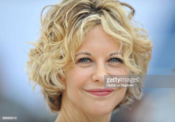 Actress Meg Ryan attends the Countdown To Zero Photocall at the Palais des Festivals during the 63rd Annual Cannes Film Festival on May 16 2010 in...