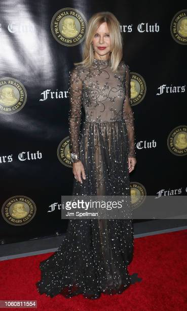 Actress Meg Ryan attends the Friar's Club Entertainment Icon Award at The Ziegfeld Ballroom on November 12 2018 in New York City