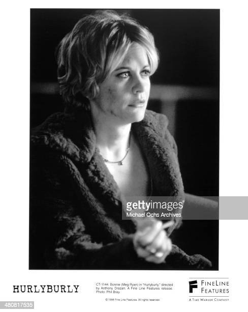 Actress Meg Ryan in a scene from the movie 'Hurlyburly ' circa 1998