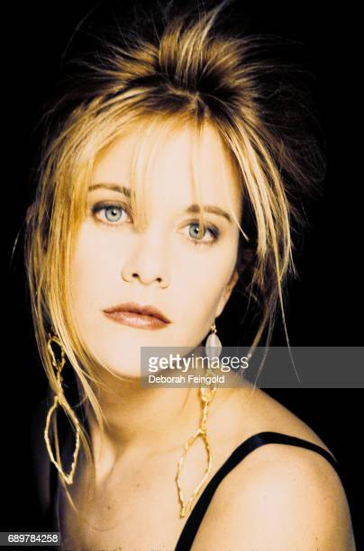 Actress Meg Ryan poses for a portrait in 1990 in New York City New York
