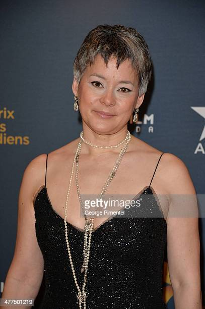 Actress Meg Tilly arrives at the Canadian Screen Awards at Sony Centre for the Performing Arts on March 9, 2014 in Toronto, Canada.