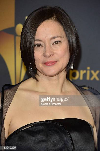 Actress Meg Tilly arrives at the Canadian Screen Awards at the Sony Centre for the Performing Arts on March 3, 2013 in Toronto, Canada.
