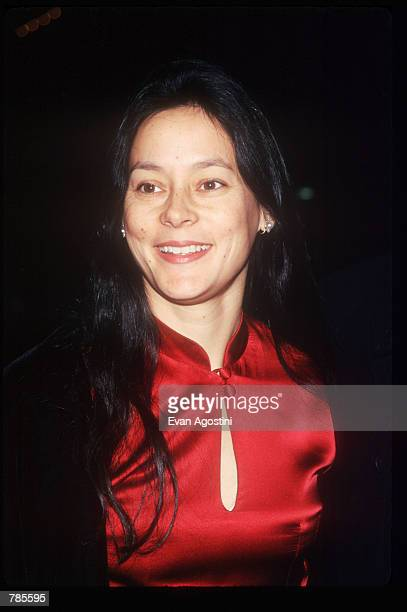 Actress Meg Tilly attends the premiere of the film 'Jerry Maguire' at Pier 88 December 6 1996 in New York City The film tells the story of a cynical...