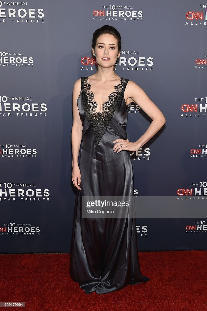 Actress Megan Boone attends CNN Heroes 2016 at the American Museum of Natural History on December 11, 2016 in New York City. 26362_011