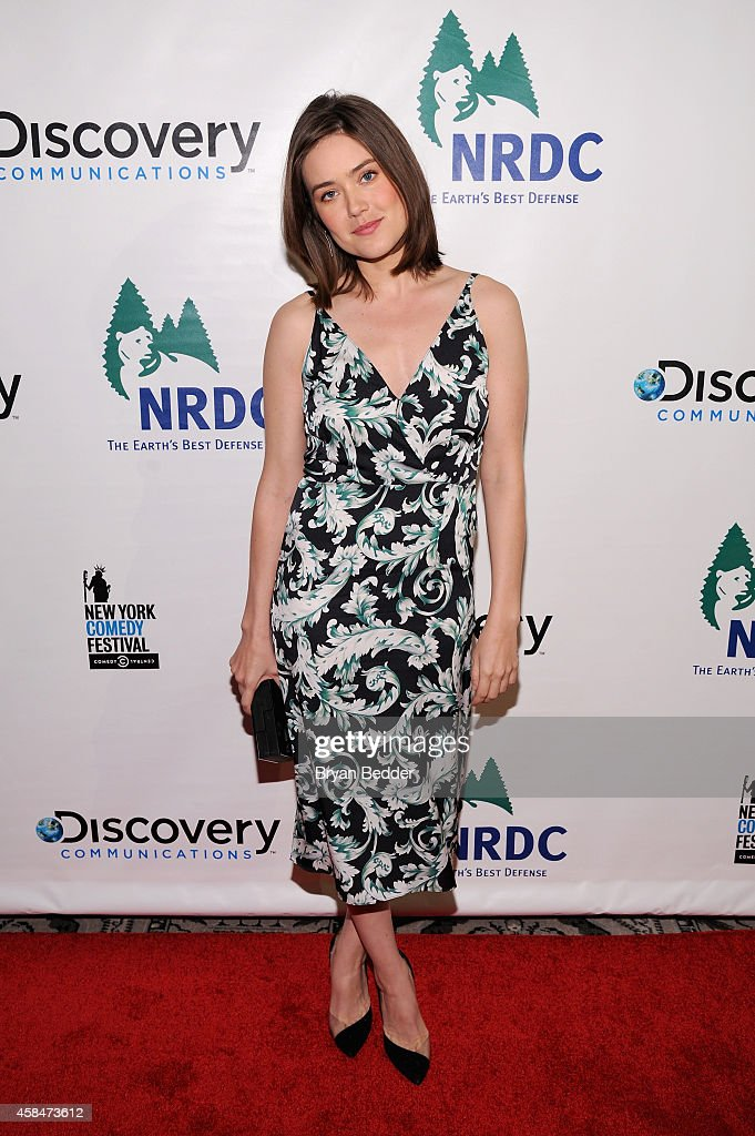 Actress Megan Boone attends NRDC's 'Night Of Comedy' benefiting the Natural Resources Defense Council at 583 Park Ave on November 5, 2014 in New York City.