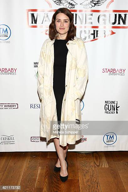 Actress Megan Boone attends the 2016 Angels Of East Africa Gala at City Winery on November 4 2016 in New York City