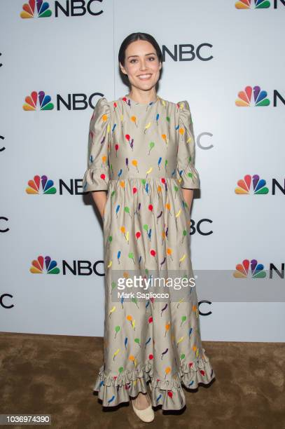 Actress Megan Boone attends the NBC and The Cinema Society Party for the casts of NBC's 20182019 Season at the Four Seasons Restaurant on September...