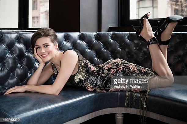 Actress Megan Boone is photographed for Resident Magazine on February 2, 2014 in New York City. PUBLISHED IMAGE.