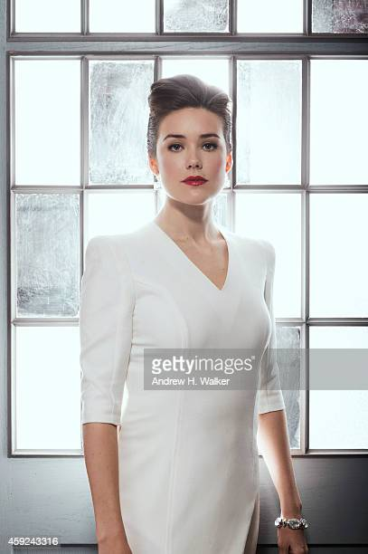 Actress Megan Boone is photographed for Resident Magazine on February 2 2014 in New York City COVER IMAGE
