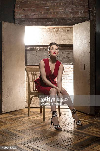Actress Megan Boone is photographed for Resident Magazine on February 2 2014 in New York City PUBLISHED IMAGE
