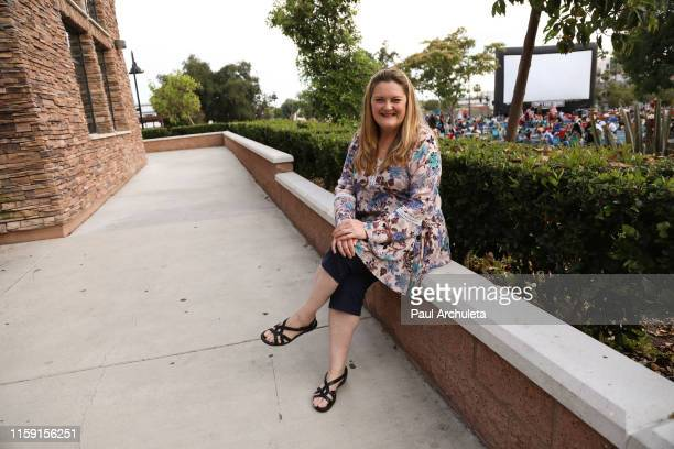 Actress Megan Cavanagh attends the Street Food Cinema's screening of A League Of Their Own at the Glendale Central Park on June 29 2019 in Glendale...