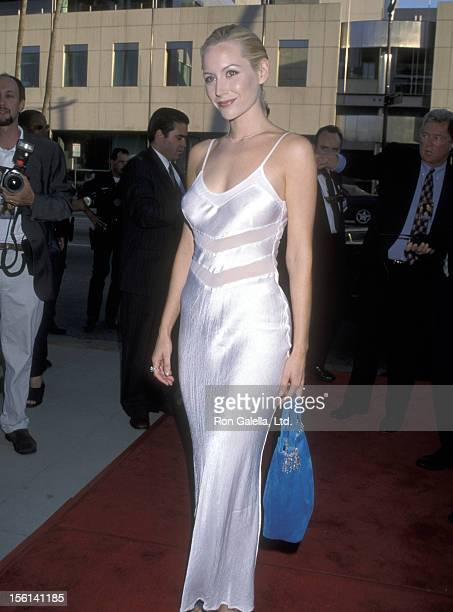 Actress Megan Dodds attends the 'Ever After' Beverly Hills Premiere on July 29 1998 at Samuel Goldwyn Theatre in Beverly Hills California