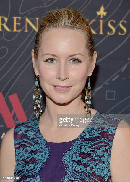 Actress Megan Dodds attends The Marriott Content Studio's French Kiss film premiere at the Marina del Rey Marriott on May 19 2015 in Marina del Rey...