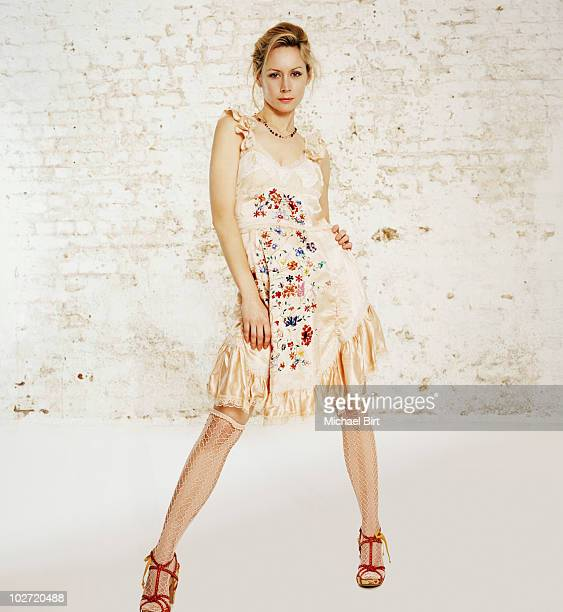 Actress Megan Dodds poses for a portrait shoot in London UK