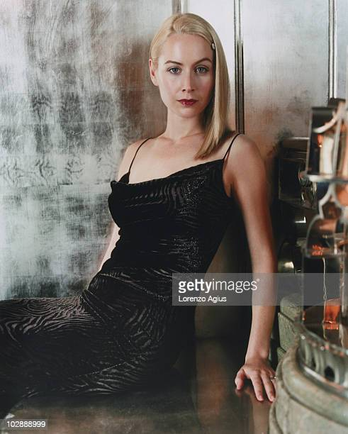 Actress Megan Dodds poses for a portrait shoot on June 22 1998 in London