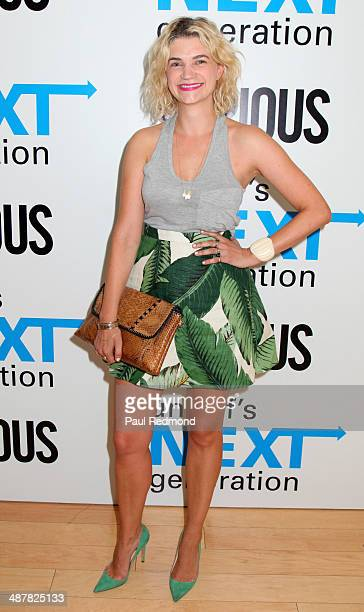 Actress Megan Ferguson attends 1st Annual UNICEF NextGen LA Photo Benefit at SkyBar at the Mondrian Los Angeles on May 1 2014 in West Hollywood...