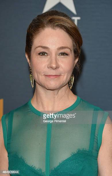 Actress Megan Follows arrives at the 2015 Canadian Screen Awards at the Four Seasons Centre for the Performing Arts on March 1 2015 in Toronto Canada